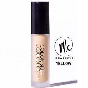 Color Skin Liquid Concealer Yellow Marifer Cosmetics